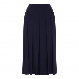 Marina Rinaldi navy pleated CULOTTES - Plus Size Collection