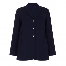 Marina Rinaldi navy relaxed fit blazer - Plus Size Collection