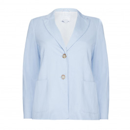 MARINA RINALDI SKY BLUE JACKET - Plus Size Collection