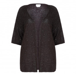 Marina Rinaldi Voyage Long Sequin Cardigan  - Plus Size Collection
