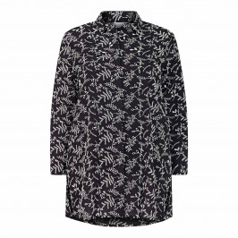 MARINA RINALDI LONG BRODERIE ANGLAISE SHIRT - Plus Size Collection