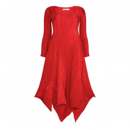 MASHIAH red statement DRESS with tie detail - Plus Size Collection