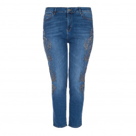 MAT FASHION EMBELLISHED SKINNY JEAN - Plus Size Collection