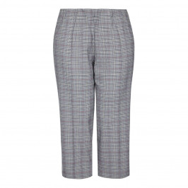MAXIMA PRINCE OF WALES CHECK CULOTTES - Plus Size Collection