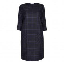 MAXIMA CHECK  DRESS - Plus Size Collection