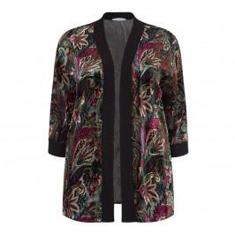 Maxima Velvet Devoré Jacket  - Plus Size Collection