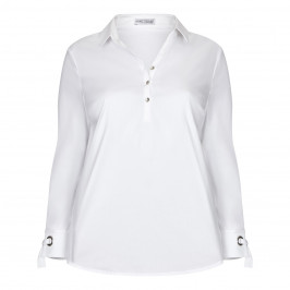MAXIMA WHITE TUNIC - Plus Size Collection