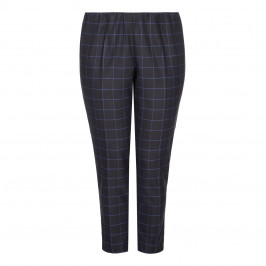 MAXIMA CHECK TROUSERS - Plus Size Collection