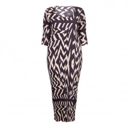 MASHIAH chevron print tube DRESS - Plus Size Collection