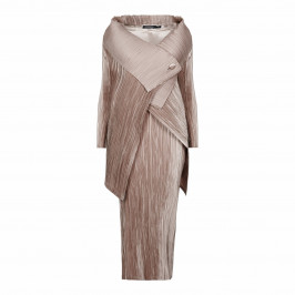 MASHIAH DRESS AND JACKET, SATIN PLISSE - Plus Size Collection