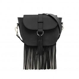 MARINA RINALDI CROSSBODY BAG BLACK - Plus Size Collection