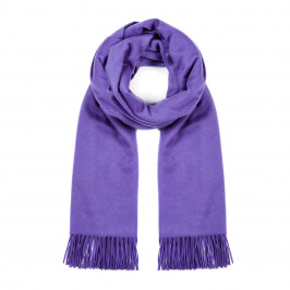 MARINA RINALDI CASHMERE STOLE PURPLE - Plus Size Collection