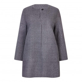 MARINA RINALDI REVERSIBLE WOOL COAT - Plus Size Collection
