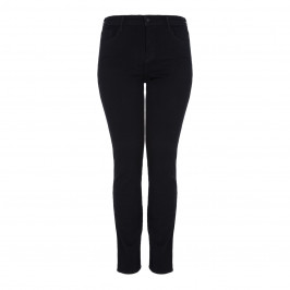 NYDJ BLACK STRAIGHT LEG SHAPING JEAN - Plus Size Collection