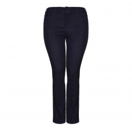 NYDJ STRAIGHT LEG INDIGO DENIM - Plus Size Collection