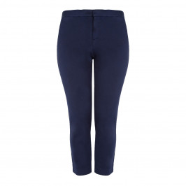 NYDJ NAVY CLASSIC COTTON CHINO - Plus Size Collection