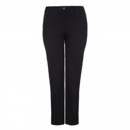NP straight leg black stretch JEANS - Plus Size Collection