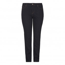 NYDJ dark denim straight leg JEANS - Plus Size Collection
