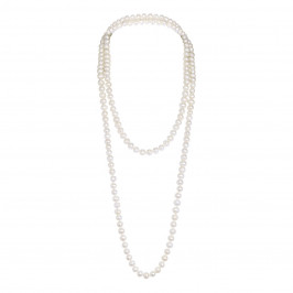 Nur Big Pearl Longstring Necklace - Plus Size Collection