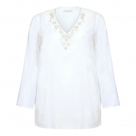 OPEN END embellished Kaftan - Plus Size Collection