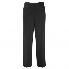 VERPASS BLACK STRAIGHT LEG TROUSERS - Plus Size Collection