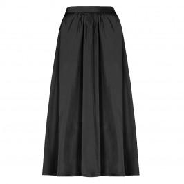 PERSONA BY MARINA RINALDI TAFETA SKIRT BLACK - Plus Size Collection