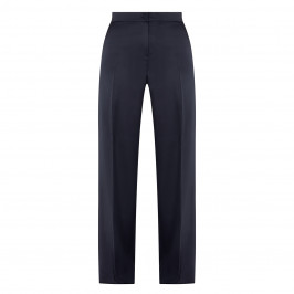 PERSONA BY MARINA RINALDI CREPE SATIN TROUSER NAVY - Plus Size Collection