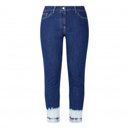 PERSONA BY MARINA RINALDI BLEACHED HEM JEANS - Plus Size Collection