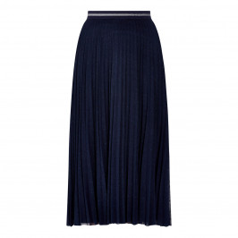 PERSONA BY MARINA RINALDI TULLE SKIRT NAVY - Plus Size Collection