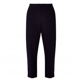 PERSONA BY MARINA RINALDI CROPPED TROUSER NAVY - Plus Size Collection