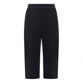 PERSONA BY MARINA RINALDI SCUBA JERSEY TROUSER NAVY - Plus Size Collection