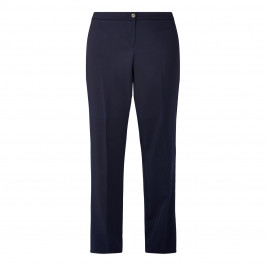 PERSONA BY MARINA RINALDI TROUSER NAVY  - Plus Size Collection