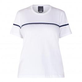PERSONA BY MARINA RINALDI T-SHIRT WHITE  - Plus Size Collection