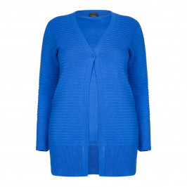 PERSONA BY MARINA RINALDI KNITTED TWINSET COBALT - Plus Size Collection