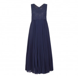PERSONA by Marina Rinaldi navy lace BALL GOWN
