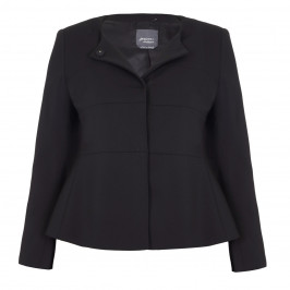 PERSONA BY MARINA RINALDI BLACK WAISTED JACKET - Plus Size Collection