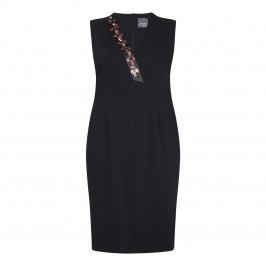 Persona Black Dress With Optional Sleeves - Plus Size Collection