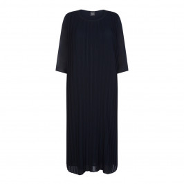 PERSONA BY MARINA RINALDI DRESS NAVY - Plus Size Collection
