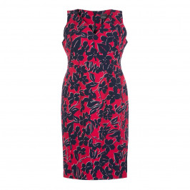 PERSONA BY MARINA RINALDI PRINT DRESS OPT SLEEVE - Plus Size Collection