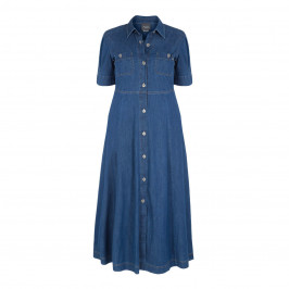 PERSONA BY MARINA RINALDI DENIM DRESS - Plus Size Collection