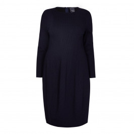 PERSONA BY MARINA RINALDI NAVY SHIFT DRESS - Plus Size Collection