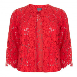 PERSONA UNLINED LACE JACKET  - Plus Size Collection