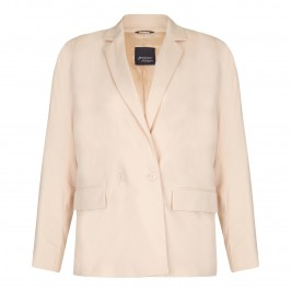 PERSONA blush boyfriend jacket - Plus Size Collection