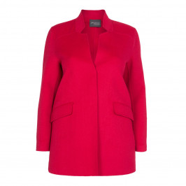 PERSONA BY MARINA RINALDI DOUBLE FACE WOOL BLEND COAT - Plus Size Collection