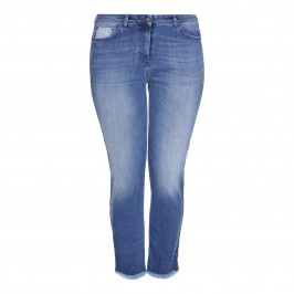 PERSONA BY MARINA RINALDI LUREX STRIPE JEANS - Plus Size Collection