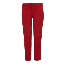 PERSONA red skinny JEANS - Plus Size Collection