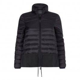 PERSONA BY MARINA RINALDI PADDED JACKET BLACK - Plus Size Collection