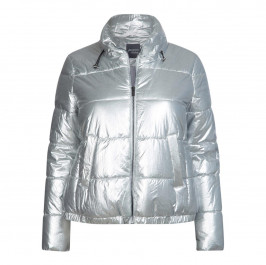 PERSONA BY MARINA RINALDI SILVER PUFFER - Plus Size Collection
