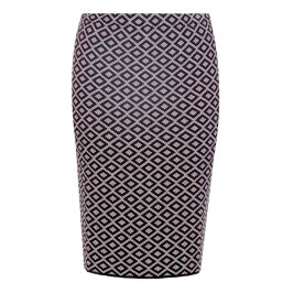 PERSONA BY MARINA RINALDI JAQUARD KNITTED SKIRT - Plus Size Collection