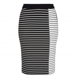 PERSONA BY MARINA RINALDI STRIPE PENCIL SKIRT - Plus Size Collection